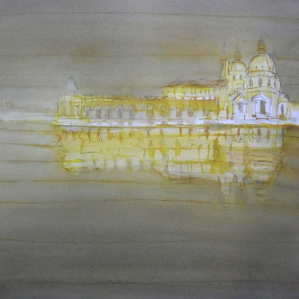 paysage aquarelle 12