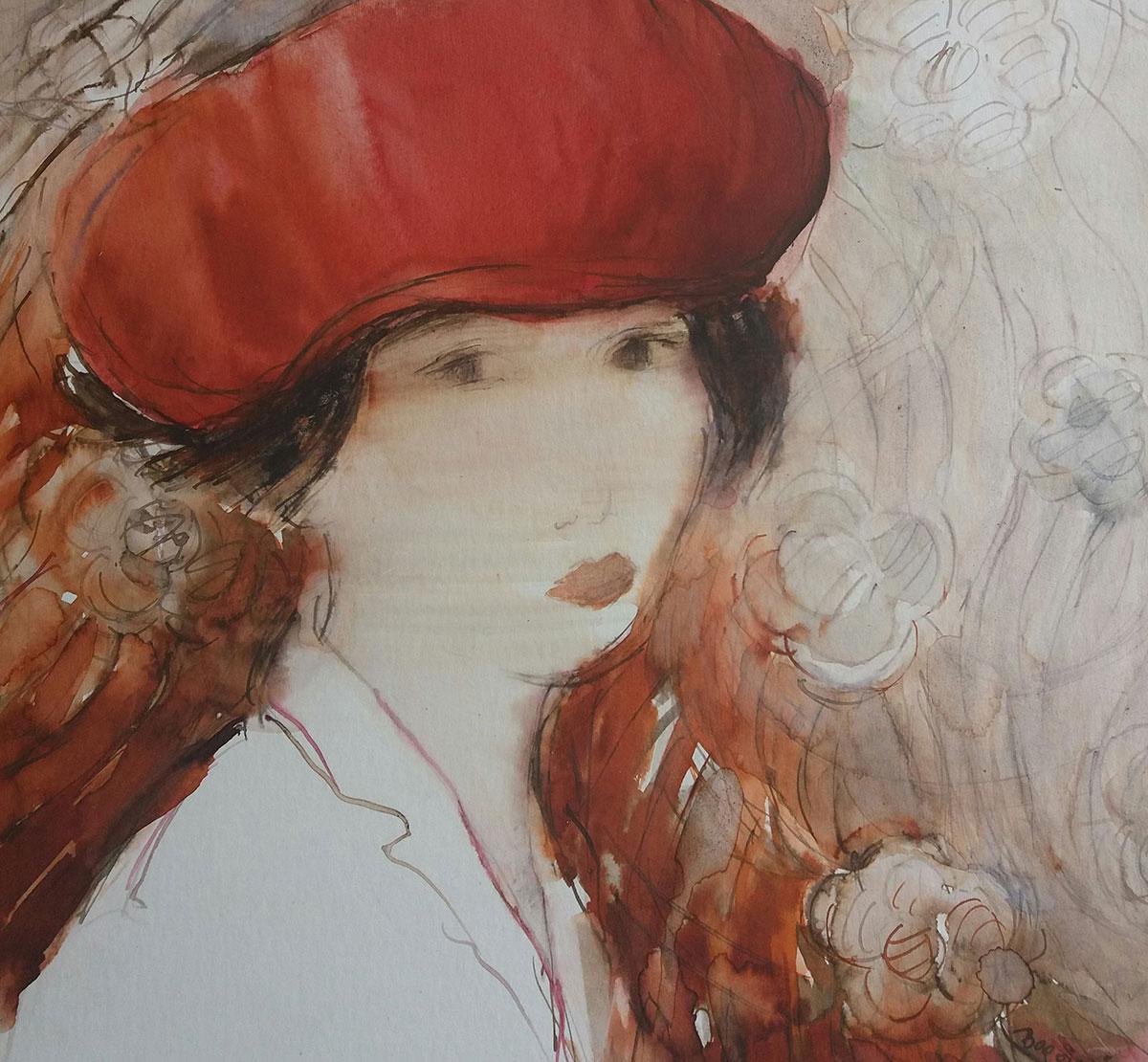 femme aquarelle 1