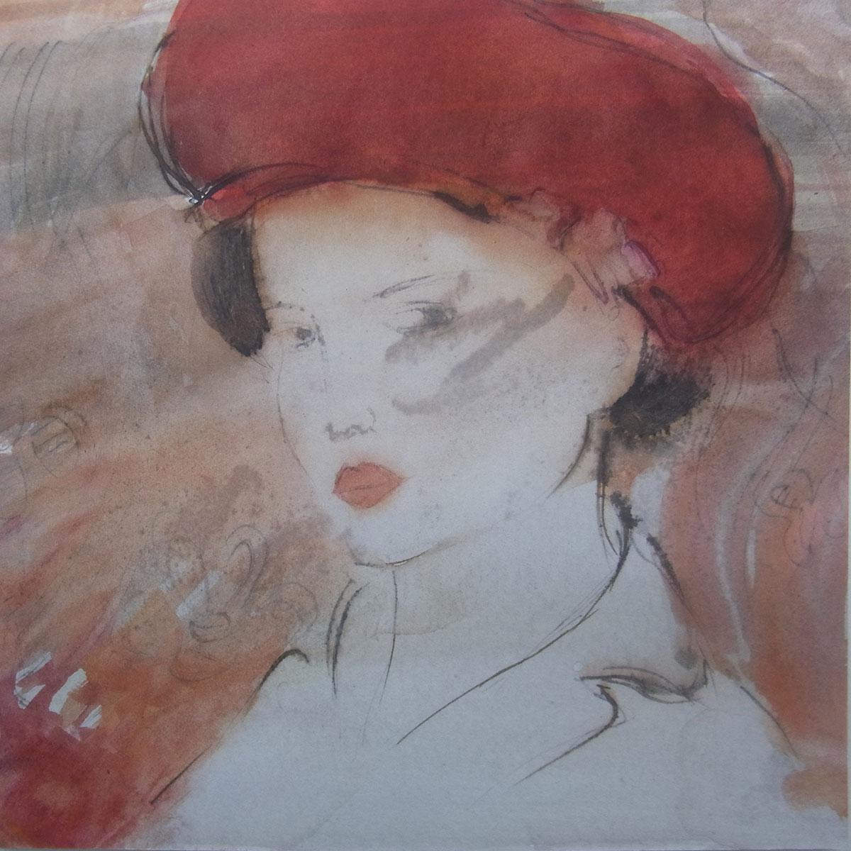 femme aquarelle 3