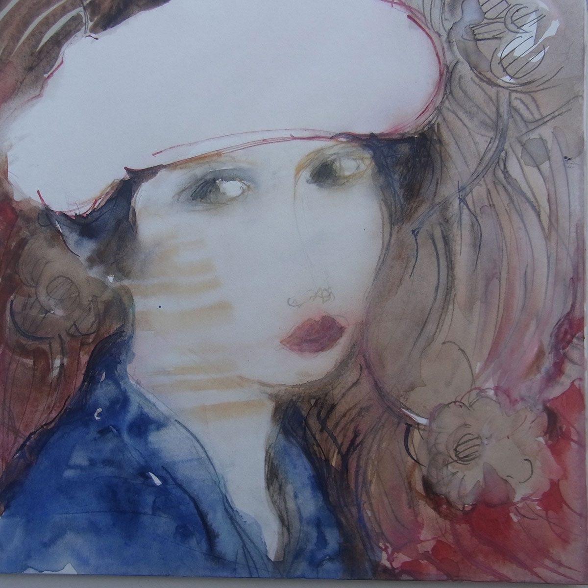 femme aquarelle 7