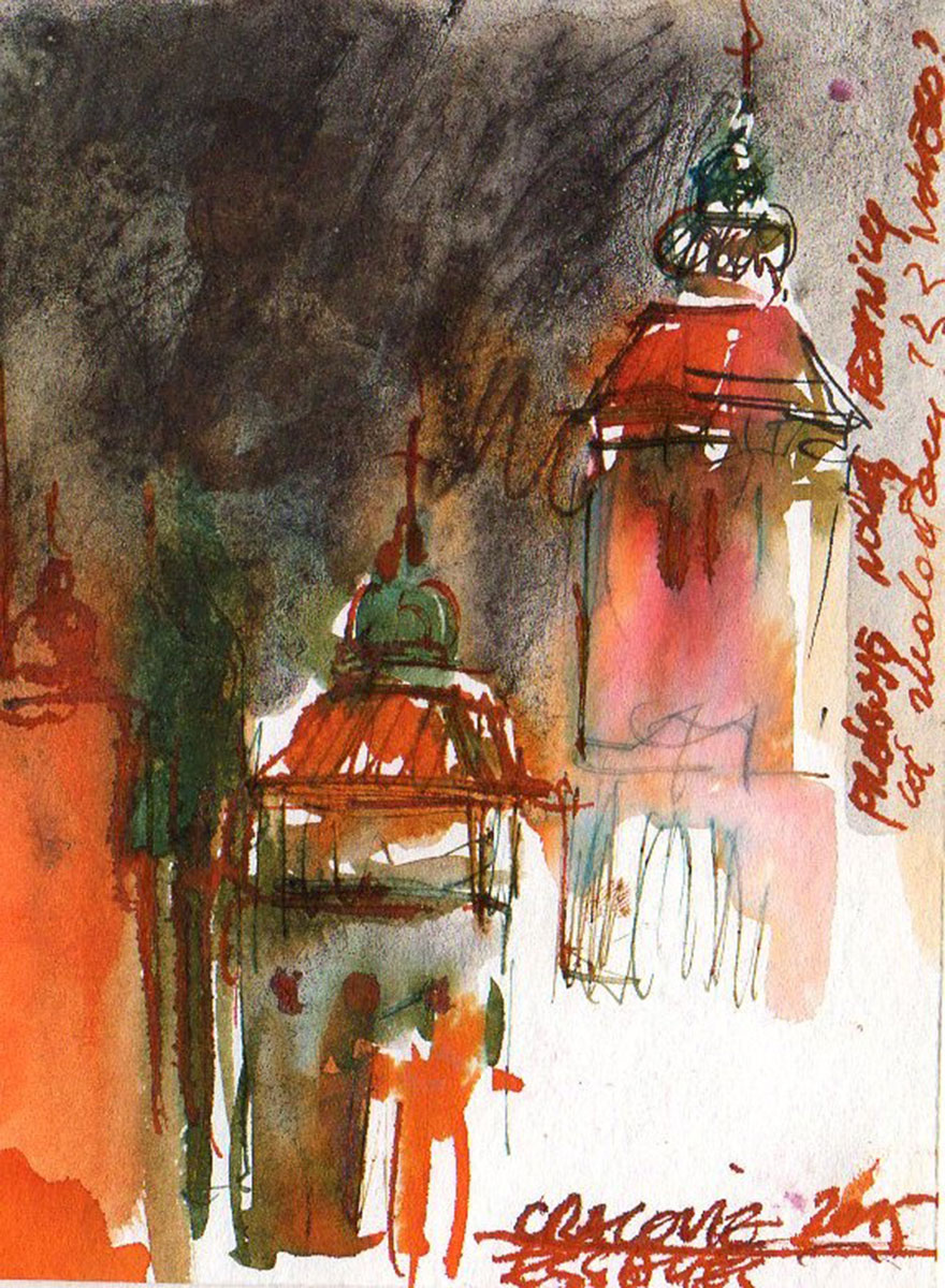 paysage aquarelle 16